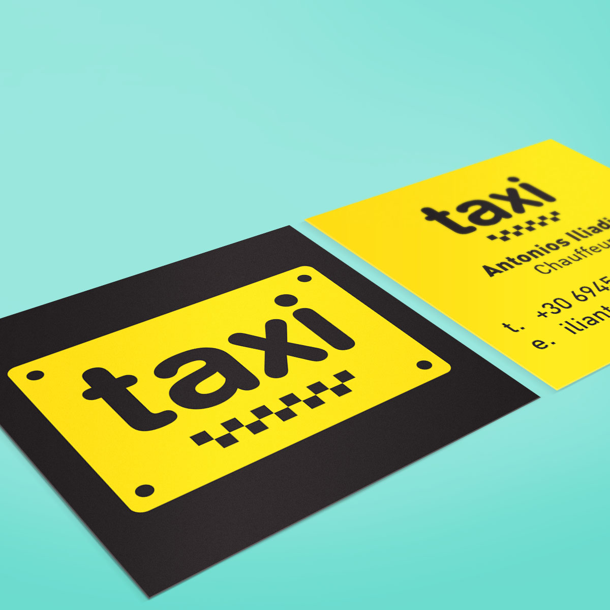 Dimension Web & Graphic Design Portfolio | Antonis Iliadis Taxi ...
