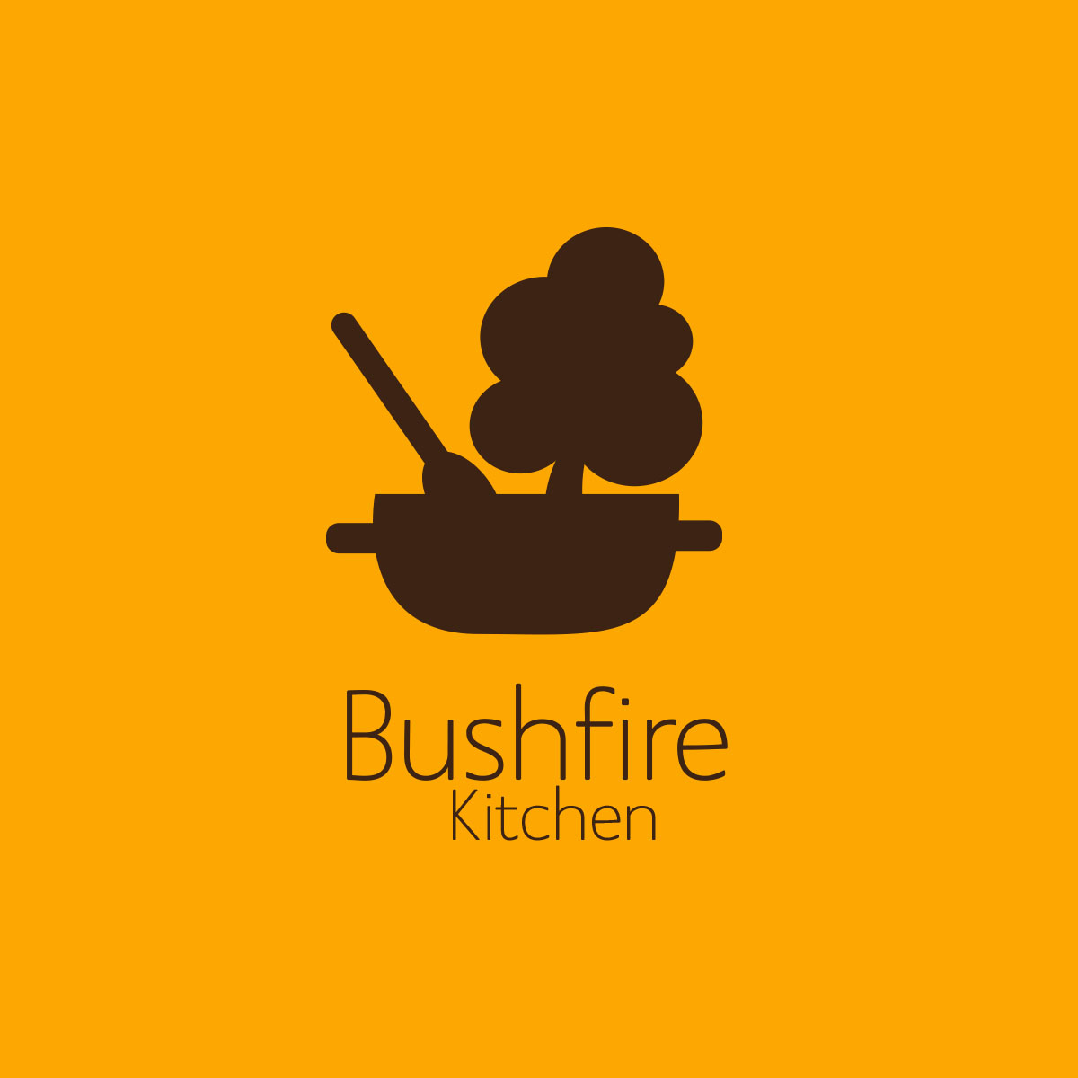 bushfire kitchen diner logo - Bushfire Kitchen